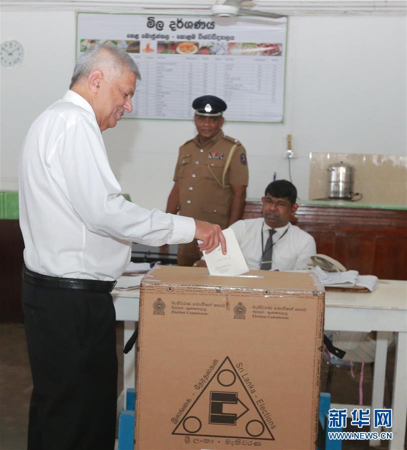 (國際)(4)斯裏蘭卡舉行大選