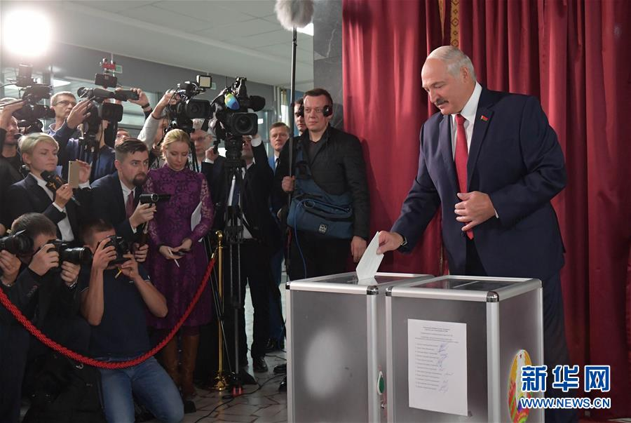 (國際)(1)白俄羅斯舉行議會下院選舉