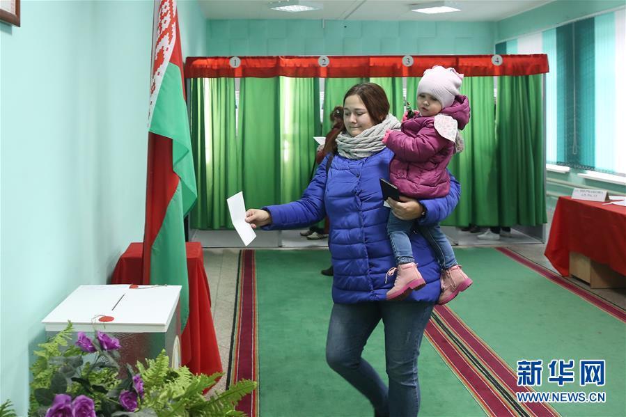 (國際)(3)白俄羅斯舉行議會下院選舉