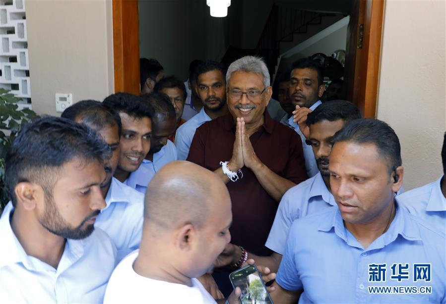 (國際)(1)斯裏蘭卡反對黨候選人贏得總統選舉