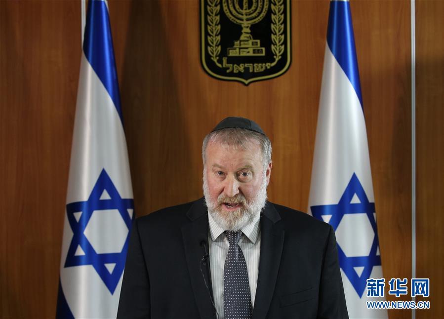 (國際)(1)以色列總理內塔尼亞胡因涉嫌貪腐將被正式起訴