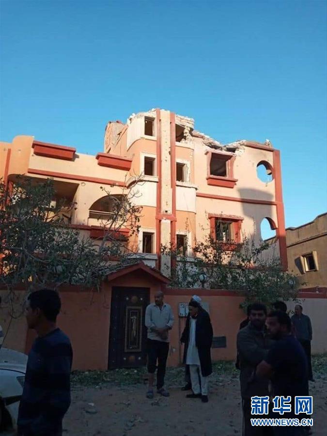 (國際)(1)利比亞首都南部遭空襲致3人死亡