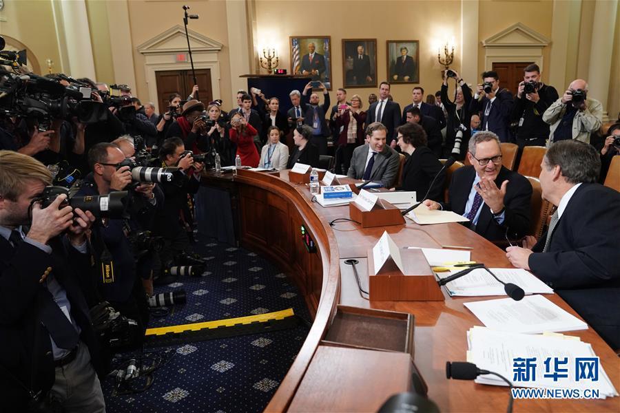 (國際)(4)美國會眾議院司法委員會舉行首場特朗普彈劾調查聽證會