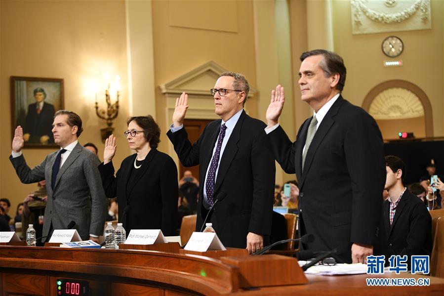 (國際)(1)美國會眾議院司法委員會舉行首場特朗普彈劾調查聽證會