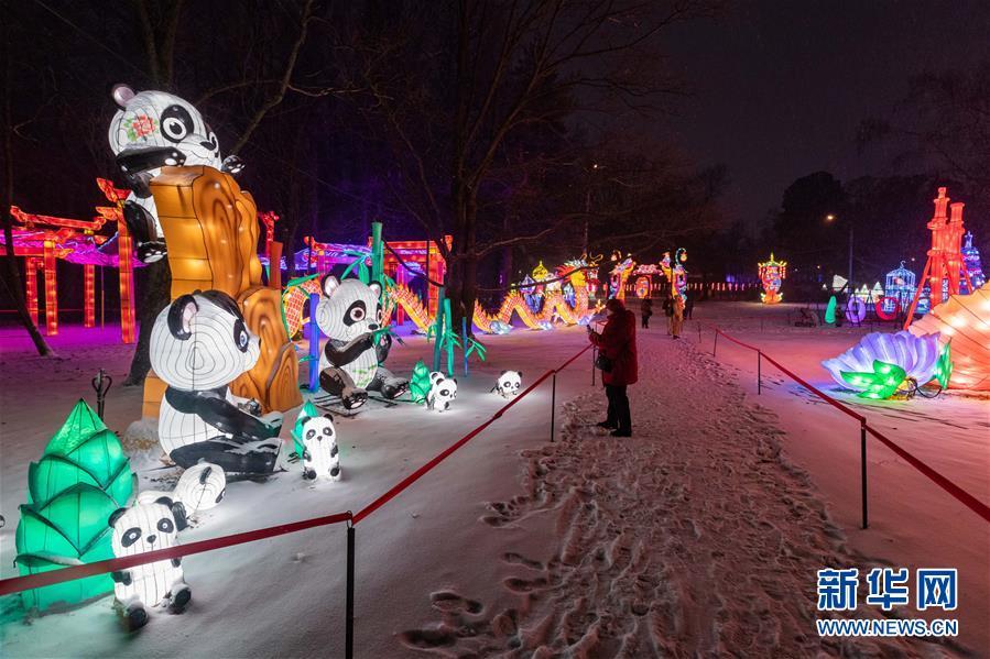 (國際)(3)中國彩燈節在莫斯科開幕