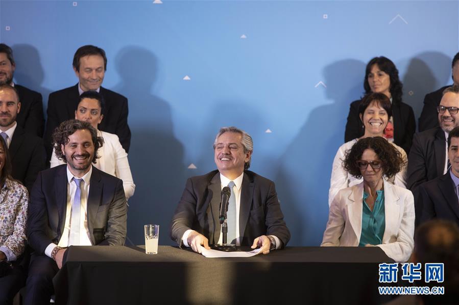 (國際)(1)阿根廷當選總統公布內閣名單