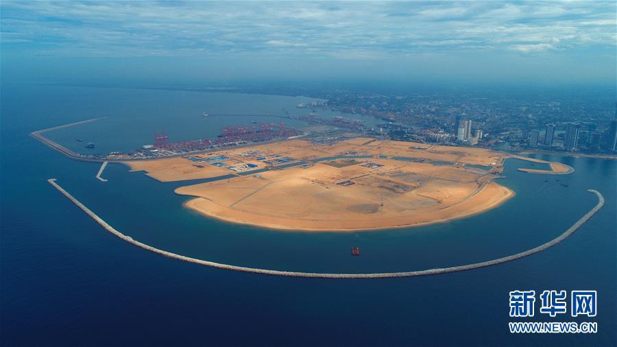 """(國際·圖文互動)(9)通訊:""""五年我們為斯裏蘭卡造出一片新土地""""——科倫坡港口城人的自豪與希冀"""