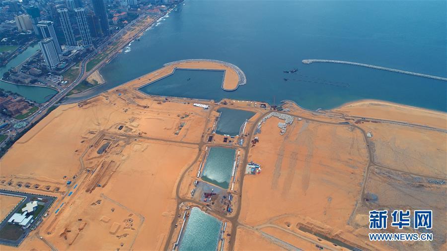"""(國際·圖文互動)(2)通訊:""""五年我們為斯裏蘭卡造出一片新土地""""——科倫坡港口城人的自豪與希冀"""