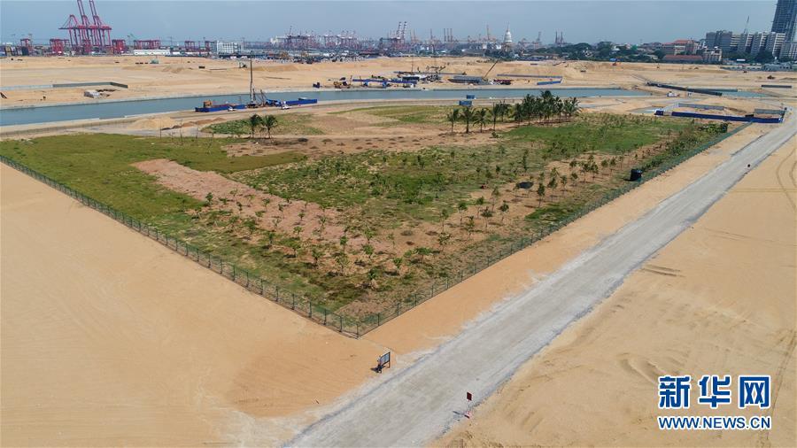 """(國際·圖文互動)(8)通訊:""""五年我們為斯裏蘭卡造出一片新土地""""——科倫坡港口城人的自豪與希冀"""