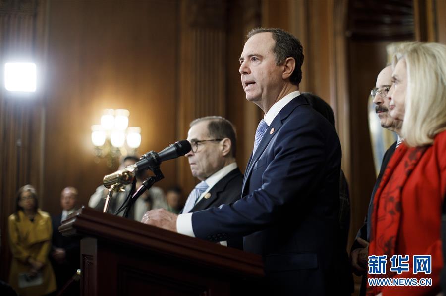 (国际)(2)美国会众议院司法委员会宣布对特朗普的弹劾条款
