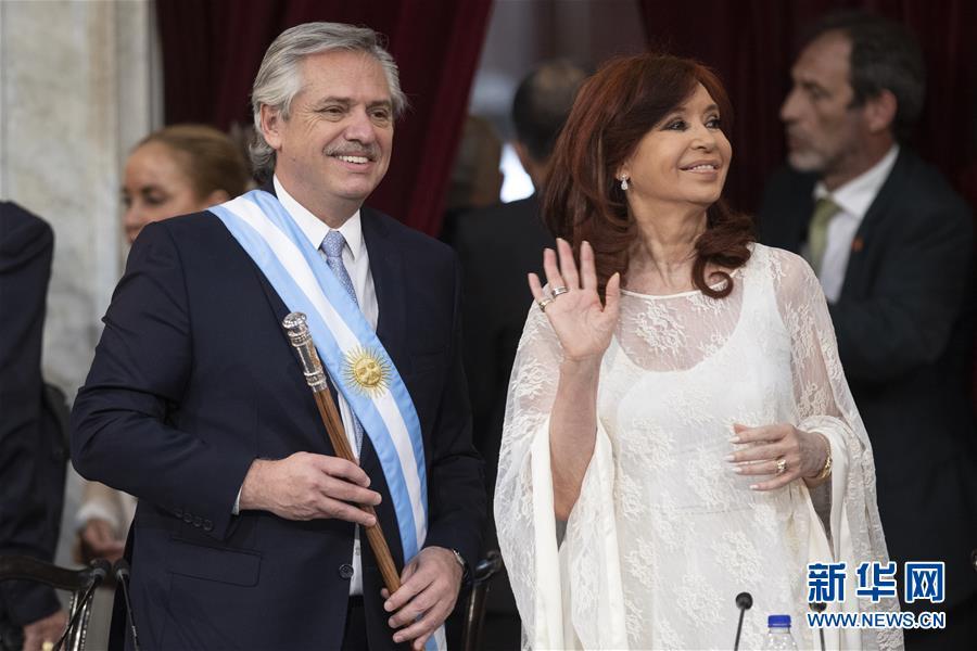 (國際)(3)費爾南德斯正式就職阿根廷總統