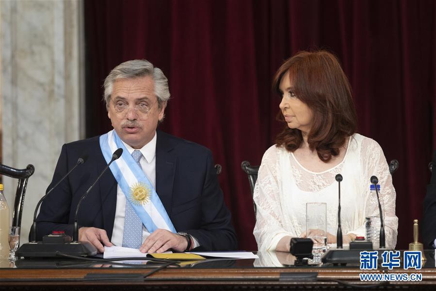 (國際)(4)費爾南德斯正式就職阿根廷總統
