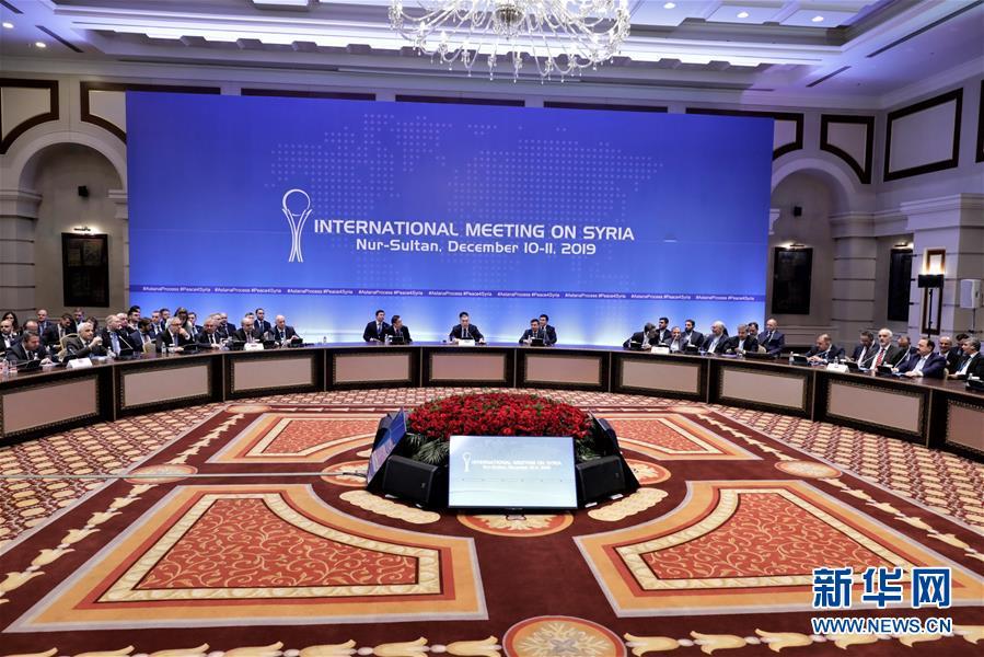 (国际)(1)新一轮叙利亚问题阿斯塔纳会谈在哈萨克斯坦举行