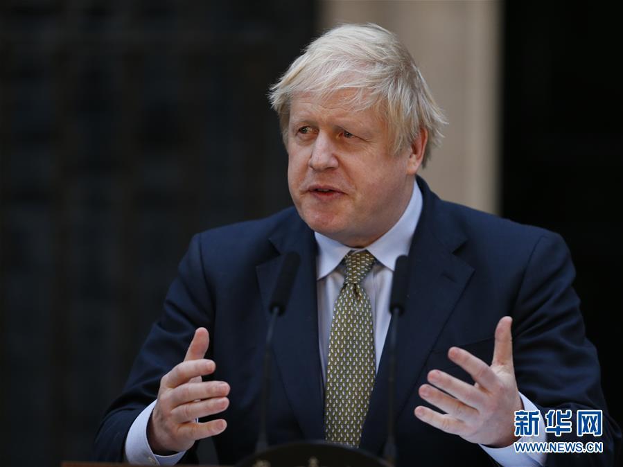 (國際)(1)約翰遜就任英國首相發表演講