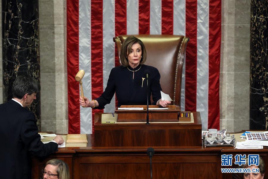 (国际)(5)美国国会众议院表决通过两项针对总统特朗普的弹劾条款