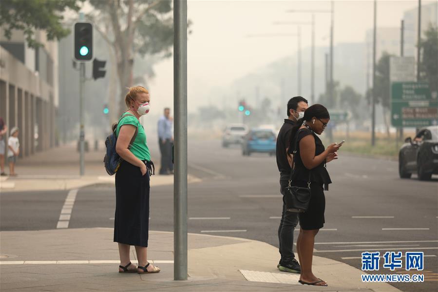 (国际)(2)烟霾笼罩堪培拉