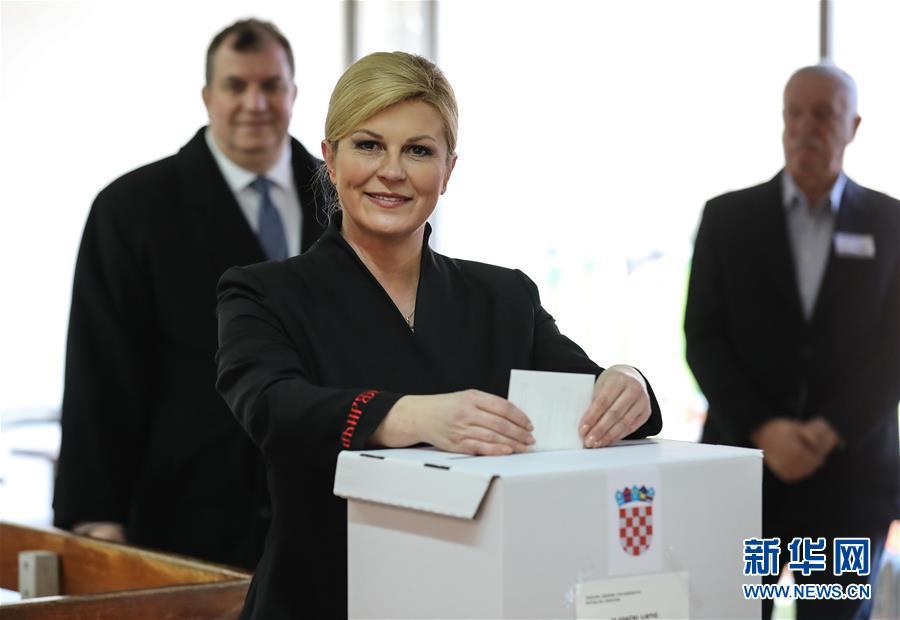 (国际)(1)克罗地亚举行总统选举第二轮投票