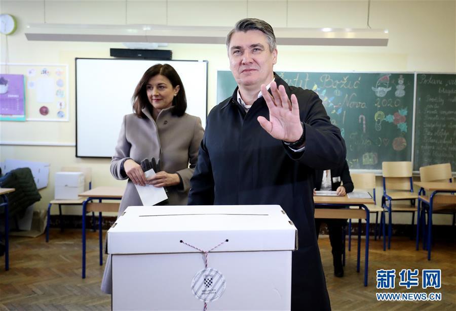 (国际)(2)克罗地亚举行总统选举第二轮投票