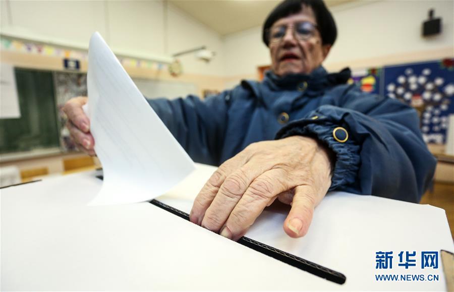 (国际)(4)克罗地亚举行总统选举第二轮投票