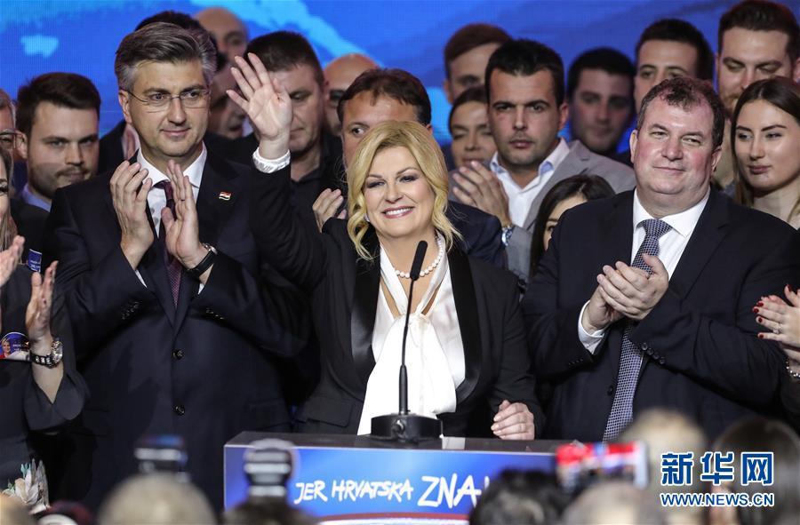 (国际)(3)克罗地亚前总理米拉诺维奇当选新总统