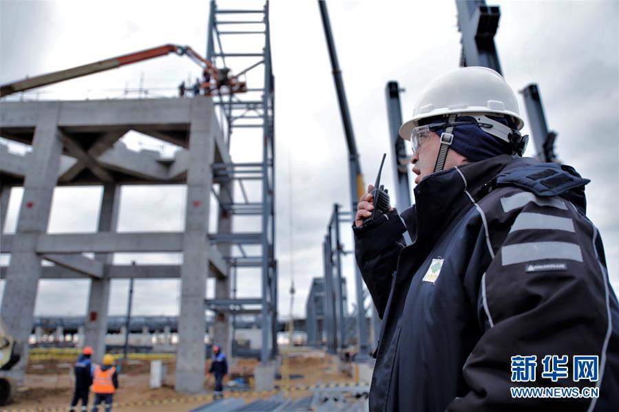 """(國際·圖文互動)(5)通訊:""""一帶一路""""助力哈薩克斯坦實現工業願景——訪哈最大化工項目施工現場"""