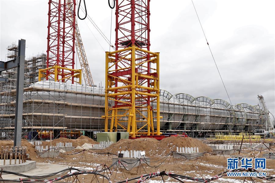 """(國際·圖文互動)(6)通訊:""""一帶一路""""助力哈薩克斯坦實現工業願景——訪哈最大化工項目施工現場"""