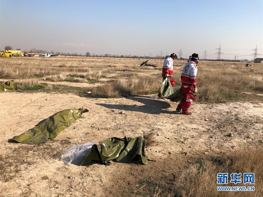 (国际)乌克兰客机在伊朗坠毁