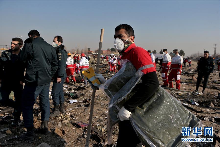 (国际)(5)乌克兰客机在伊朗坠毁