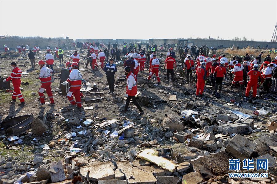(国际)(12)乌克兰客机在伊朗坠毁