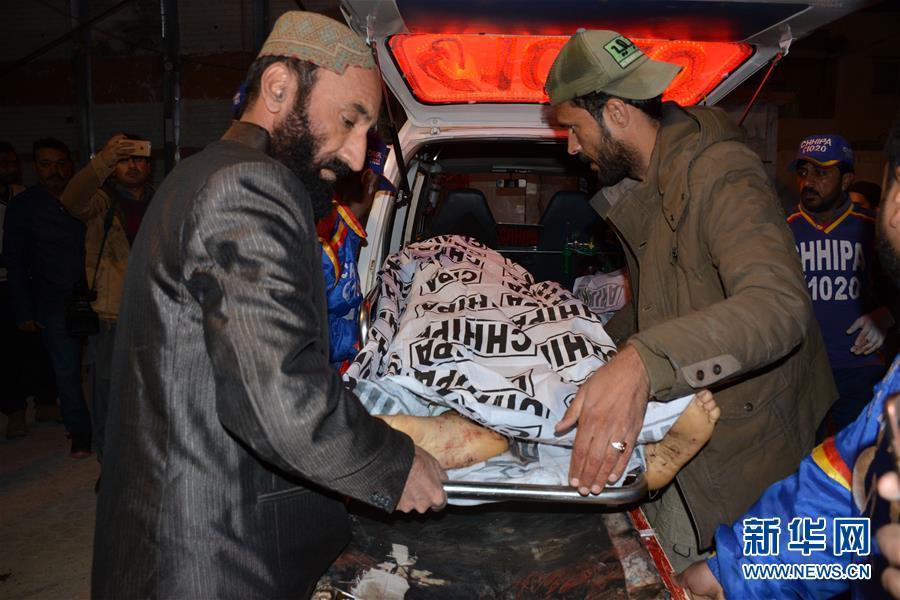 (國際)(1)巴基斯坦奎達一清真寺發生爆炸14死20傷