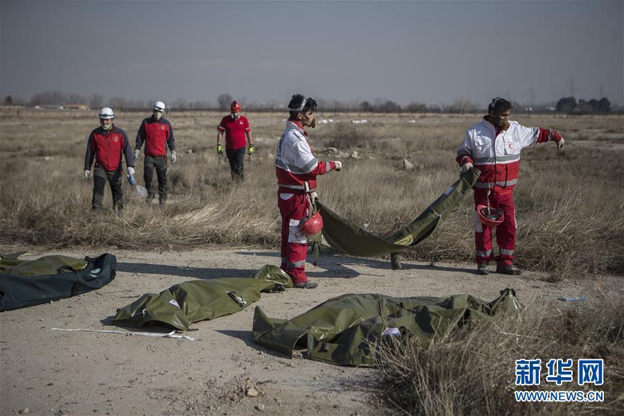 """(国际·图文互动)(2)伊朗承认乌克兰失事客机被军方""""非故意""""击落"""