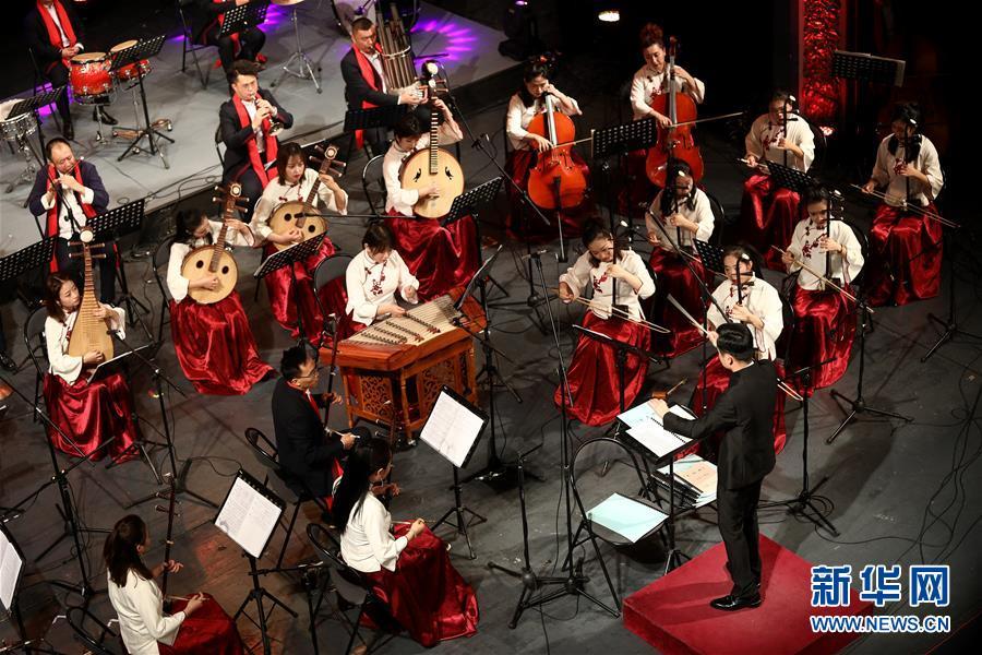 (國際)(2)《魅力絲路·隴上行》音樂會在薩拉熱窩舉行