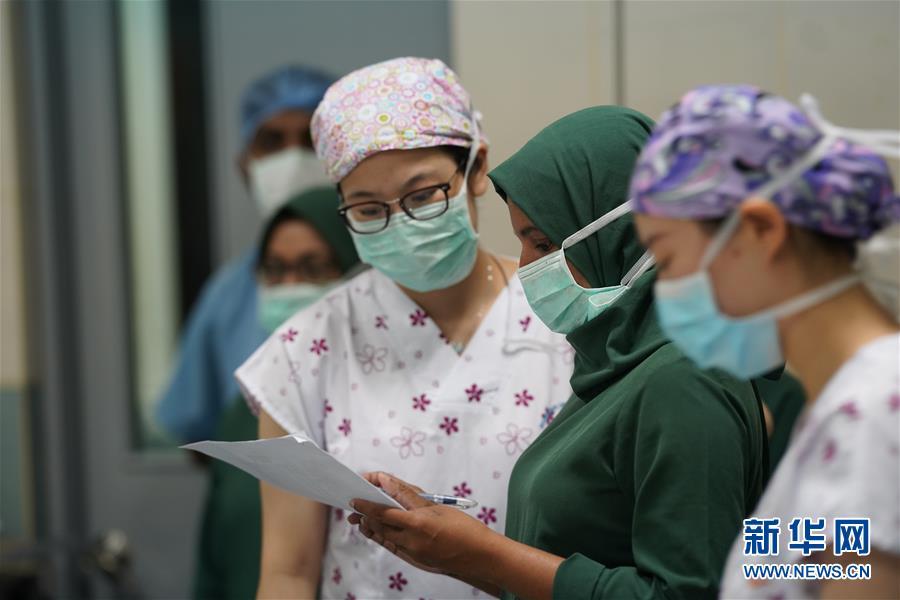 (国际·图文互动)(5)为马尔代夫留下一支不走的眼科医疗队