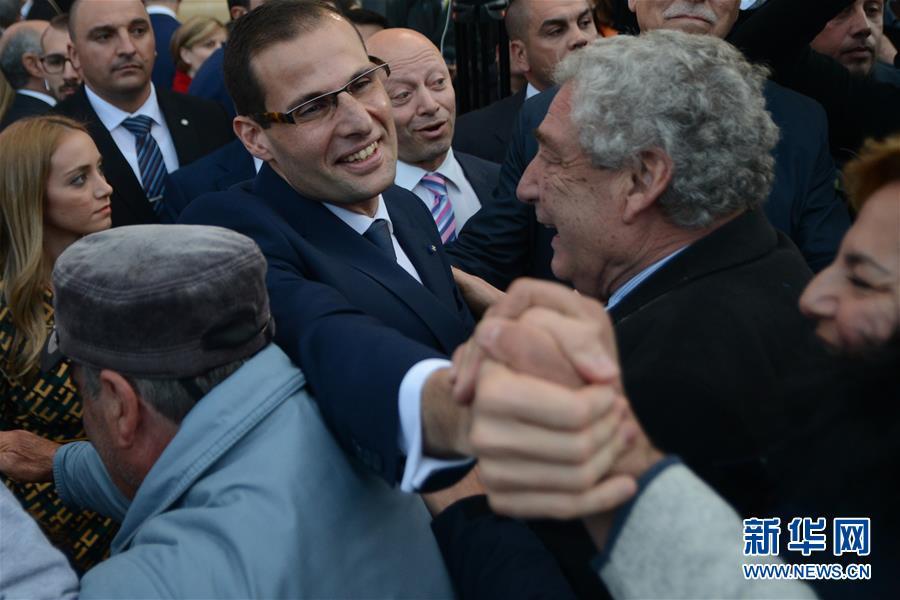 (國際)(4)羅伯特·阿貝拉宣誓就任馬耳他總理