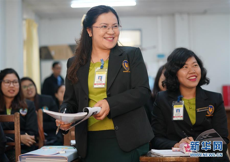 (習近平出訪配合稿·圖文互動)(2)通訊:緬甸公務員掀起學中文熱