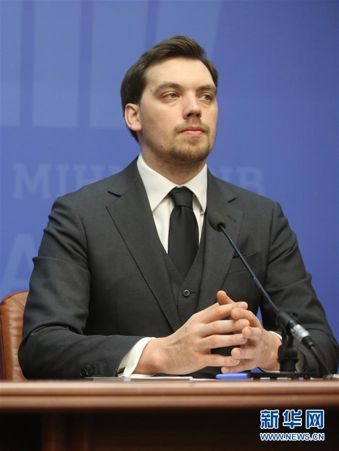 (國際)(1)烏克蘭總理貢恰魯克向總統和議會提出辭職