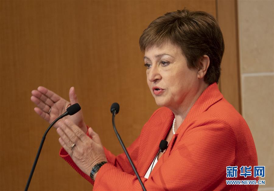 (國際)(1)IMF總裁:中美第一階段經貿協議降低世界經濟不確定性