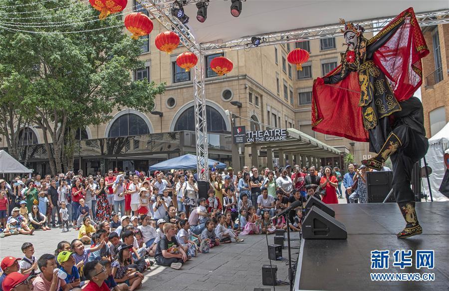 """(国际)(3) """"欢乐春节""""文艺表演在南非举行"""