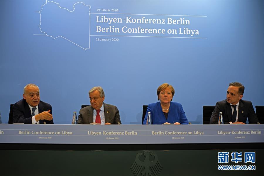 (國際)利比亞問題柏林峰會與會各方同意遵守武器禁運