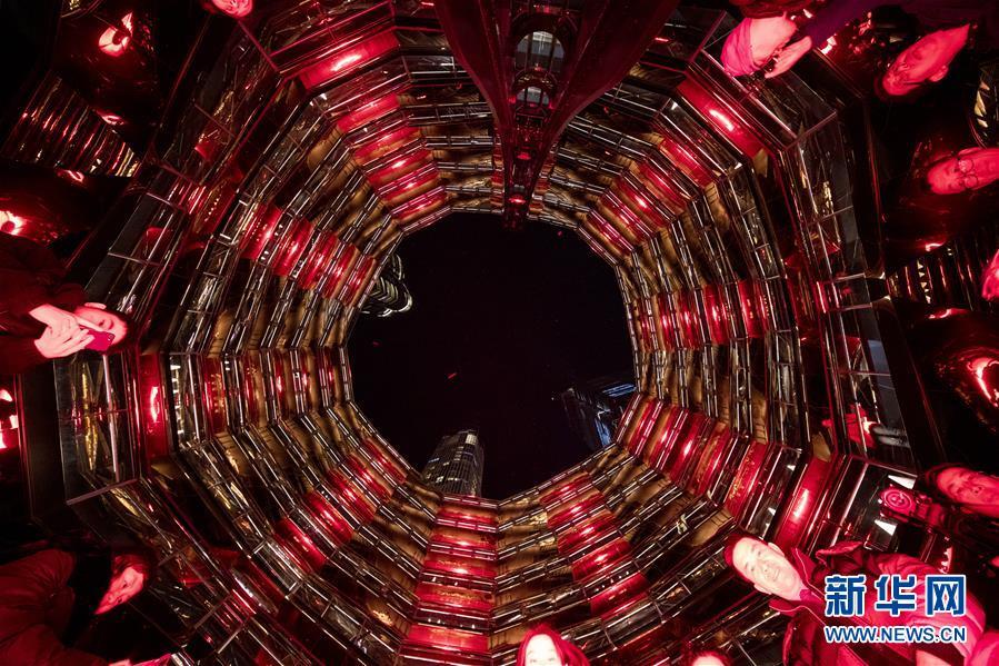 (國際)(1)紐約哈得孫城市廣場慶祝中國新春