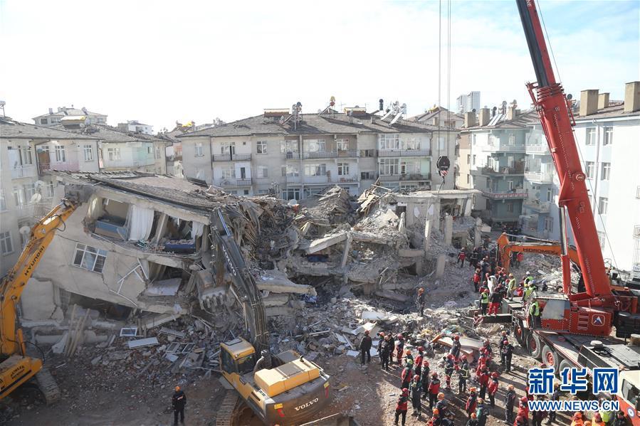 (國際)(1)土耳其東部地震造成至少36人死亡