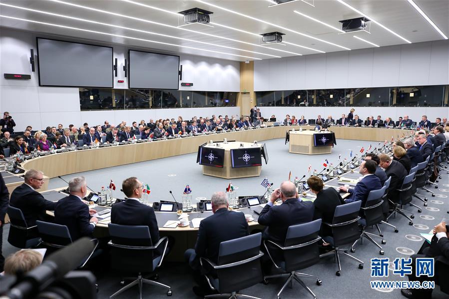 (國際)(1)北約國防部長會議在布魯塞爾閉幕
