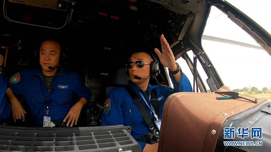 (國際)(1)中國維和直升機分隊緊急轉運岡比亞重病維和警察