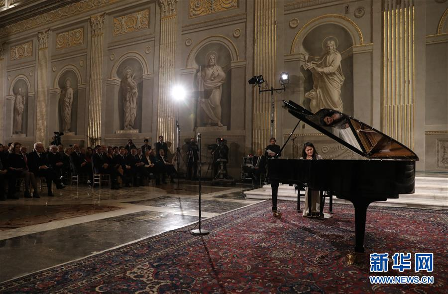 (國際)(3)意總統府舉辦特別音樂會聲援中國抗擊新冠肺炎疫情