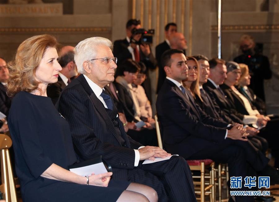 (國際)(5)意總統府舉辦特別音樂會聲援中國抗擊新冠肺炎疫情