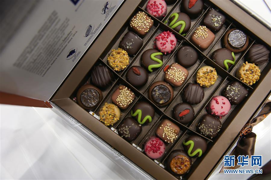 (國際)(4)第七屆布魯塞爾巧克力沙龍揭幕