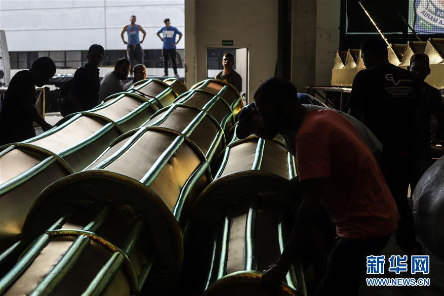 (国际·图文互动)(2)通讯:巴西舞校推出中国主题桑巴巡游