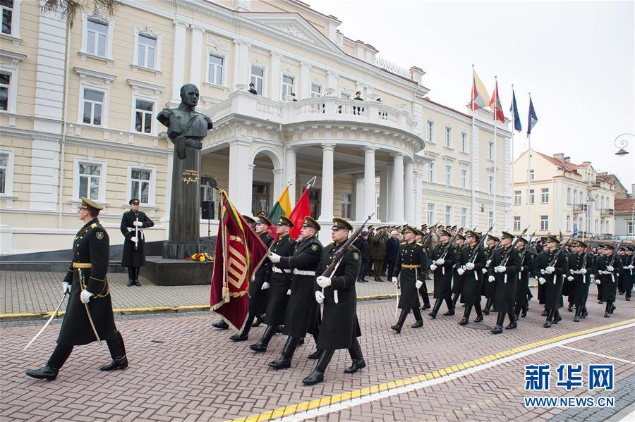 (國際)(1)立陶宛慶祝獨立102周年