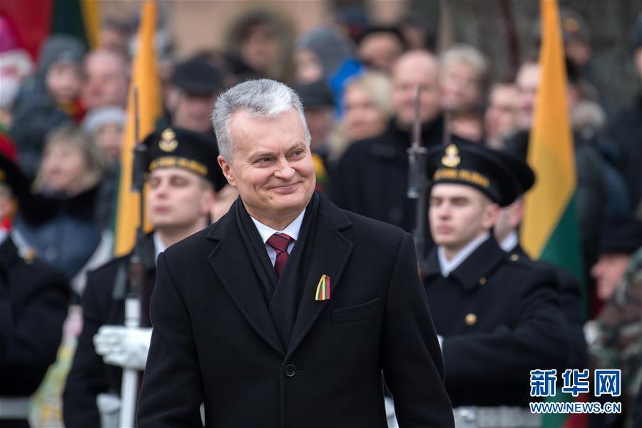(國際)(3)立陶宛慶祝獨立102周年