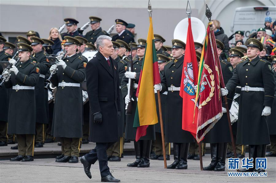 (國際)(4)立陶宛慶祝獨立102周年